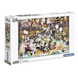 Clementoni puslespel 6000b Disney Gala 6000 bitar - Clementoni