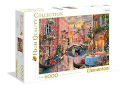 Clementoni puslespel 6000b Venice Evening Sunset 6000 bitar - Clementoni