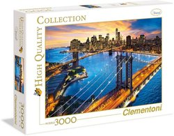 Clementoni puslespel 3000b New York 3000 bitar - Clementoni