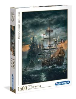 Clementoni puslespel 1500b The Pirate Ship 1500 bitar - Clementoni