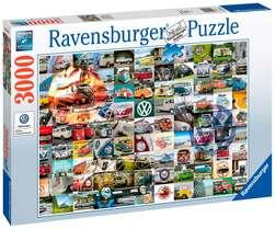 Ravensburger puslespel 3000b 99 VW Campervan Moments 3000 bitar - Ravensburger