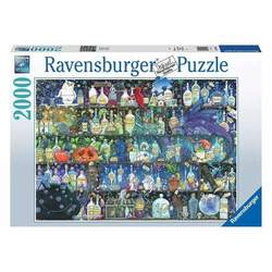 Ravensburger puslespel 2000b Poisons and potions 2000 bitar - Ravensburger