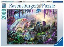 Ravensburger puslespel 2000b Dragon Valley 2000 bitar - Ravensburger