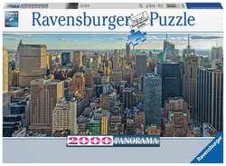 Ravensburger puslespel 2000b View over New York 2000 bitar - Ravensburger