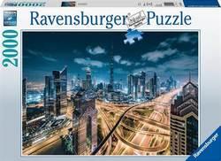 Ravensburger puslespel 2000b View of Dubai 2000 bitar - Ravensburger