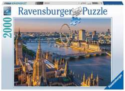 Ravensburger puslespel 2000b Atmospheric London 2000 bitar - Ravensburger