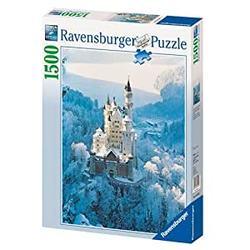 Ravensburger puslespel 1500b Neuschwanstein in Winter 1500 bitar - Ravensburger