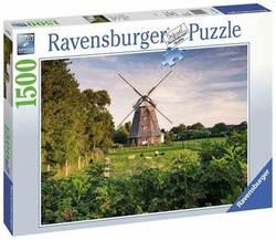 Ravensburger puslespel 1500b Windmill on the Baltic Sea 1500 bitar - Ravensburger