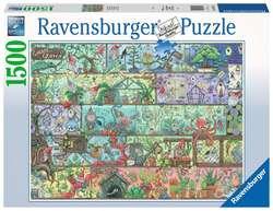 Ravensburger puslespel 1500b Zwerge im Regal 1500 bitar - Ravensburger