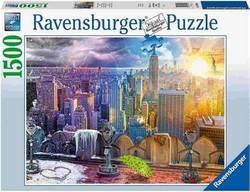 Ravensburger puslespel 1500b Seasons of New York 1500 bitar - Ravensburger