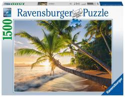 Ravensburger puslespel 1500b Beach Hideaway 1500 bitar - Ravensburger