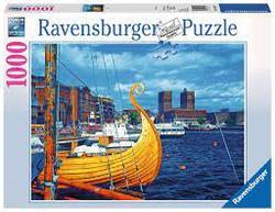Ravensburger Puslespel 1000b Oslo, Norway 1000 bitar - Ravensburger