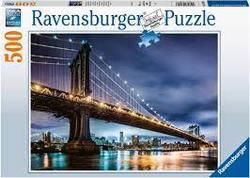 Ravensburger Puslespel 500b New York - the city that never sleeps 500 bitar - Ravensburger