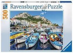 Ravensburger Puslespel 500b Colorful Marina 500 bitar - Ravensburger