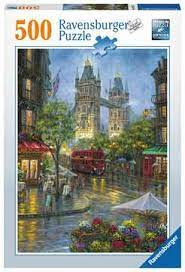 Ravensburger Puslespel 500b London Illustrert 500 bitar - Ravensburger