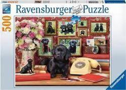 Ravensburger Puslespel 500b My Loyal Friends 500 bitar - Ravensburger