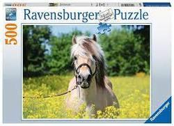 Ravensburger Puslespel 500b White Horse 500 bitar - Ravensburger