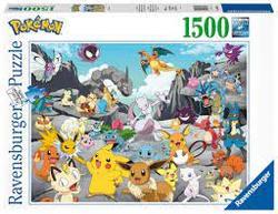 Ravensburger Puslespel 1500b Pokemon Classics 1500 bitar - Ravensburger