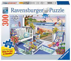 Ravensburger Puslespel 300b XL Seaside Sunshine 300 bitar XL - Ravensburger