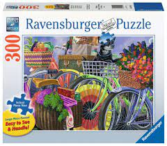 Ravensburger Puslespel 300b XL Bicycle Group 300 bitar XL - Ravensburger