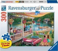 Ravensburger Puslespel 300b XL Summer at the Lake 300 bitar - Ravensburger