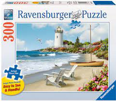 Ravensburger Puslespel 300b XL Sunlit Shores 300 bitar XL - Ravensburger