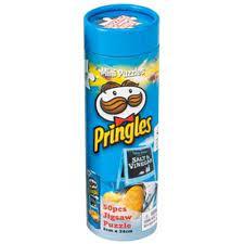 YWOW Puslespel 50b Pringles Salt & Vinegar - YWOW