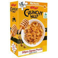 YWOW Puslespel 50b Kelloggs Crunchy Nut - YWOW