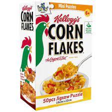 YWOW Puslespel 50b Kelloggs Corn Flakes - YWOW