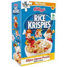 YWOW Puslespel 50b Kelloggs Rice Krispies - YWOW