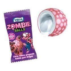 Zombie Balls tyggis 5stk Zombie Balls - Godteri