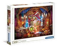 Clementoni Puslespel 1500 bitar, Wizards Workshop 1500 bitar - Clementoni