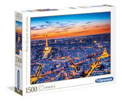 Clementoni Puslespel 1500b, Paris View 1500 bitar - Clementoni