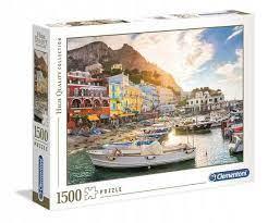 Clementoni Puslespel 1500b, Capri 1500 bitar - Clementoni