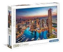 Clementoni Puslespel 1500b Dubai Marina 1500 bitar - Clementoni