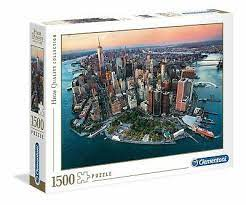 Clementoni Puslespel 1500b New York 1500 bitar - Clementoni