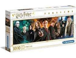 Clementoni Puslespel 1000b Panorama Harry Potter 1000 bitar - Clementoni