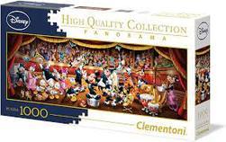 Clementoni Puslespel 1000b Panorama Disney Classic Orchestra 1000 bitar - Clementoni