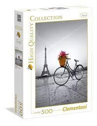 Clementoni Puslespel 500b Romantic Promenade in Paris 500 bitar - Clementoni
