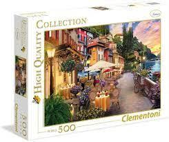 Clementoni Puslespel 500b Monte Rosa Dreaming 500 bitar - Clementoni