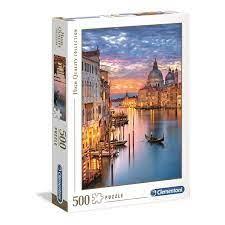 Clementoni Puslespel 500b Lighting Venice 500 bitar - Clementoni