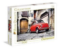 Clementoni Puslespel 500b 500 500 bitar - Clementoni