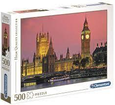 Clementoni Puslespel 500b London 500 bitar - Clementoni