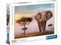 Clementoni Puslespel 500b African Sunset 500 bitar - Clementoni