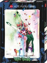 Heye Art Colours Mini Unicorn 1000b 1000 bitar - Heye