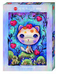 Heye Dreaming Strawberry Kitty 1000b 1000 bitar - Heye
