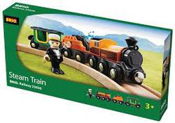 BRIO Steam Train 33036 Leiker - Leiker
