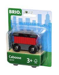 BRIO Caboose, Railway 33737 Leiker - Leiker