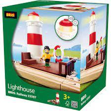 BRIO Lighthouse, Railway 33597 Leiker - Leiker