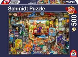 Puslespel Schmidt 500b Garage sale 500 bitar - Schmidt